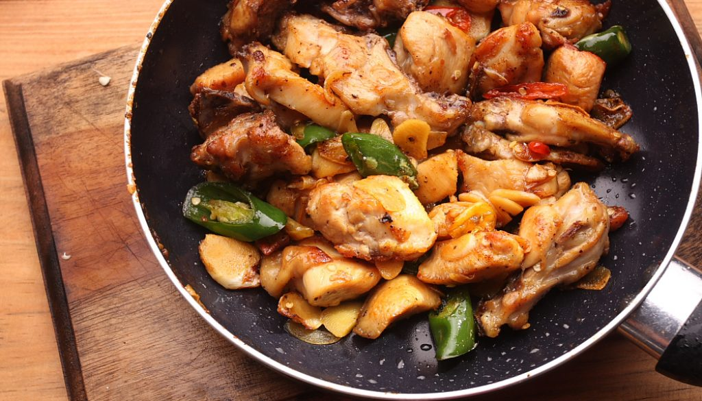 Spicy Chicken Black Pepper