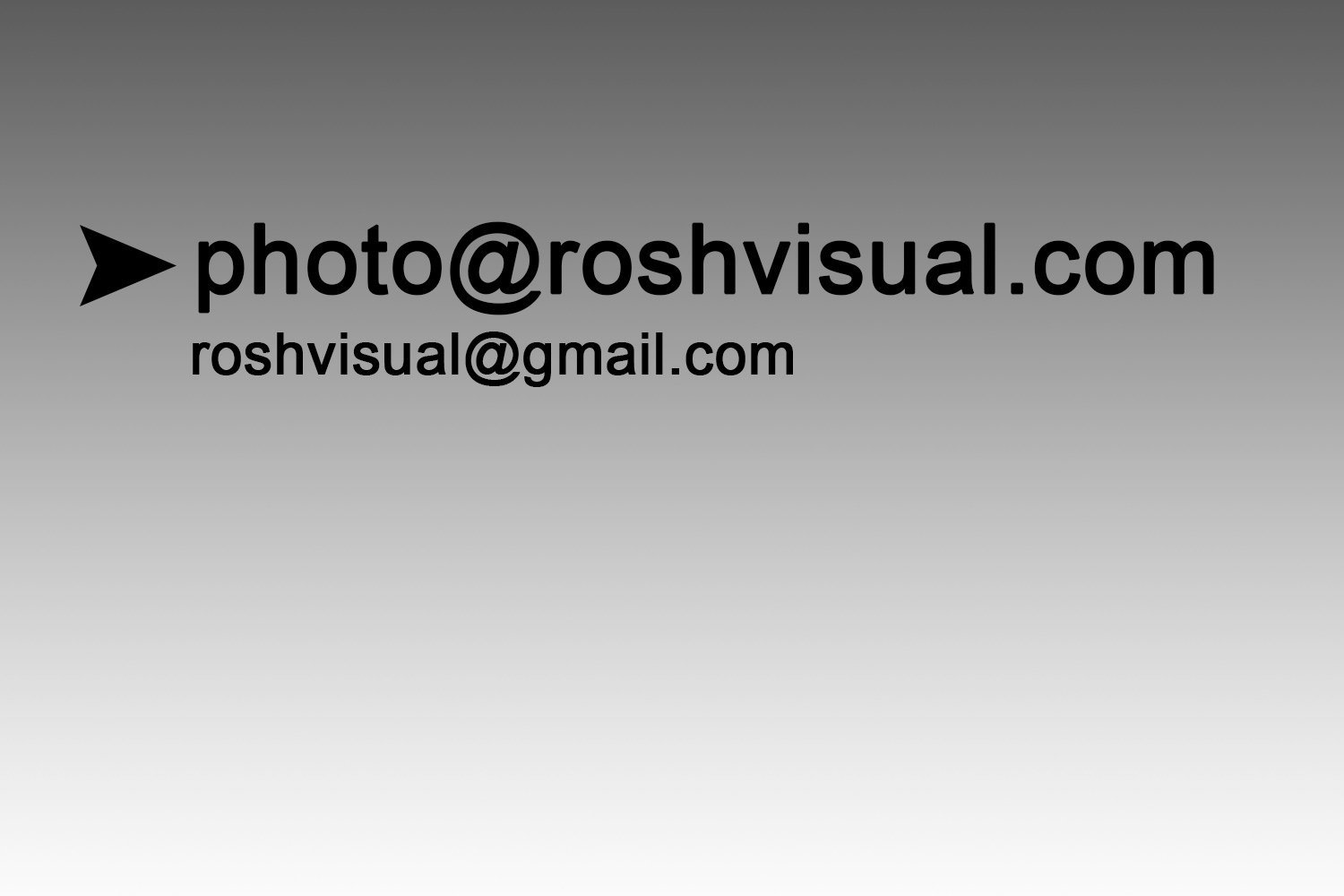 Roshvisual official email contact