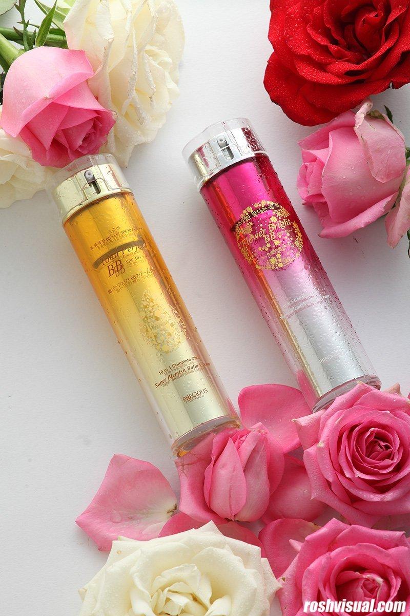 Kosmetik dan bunga