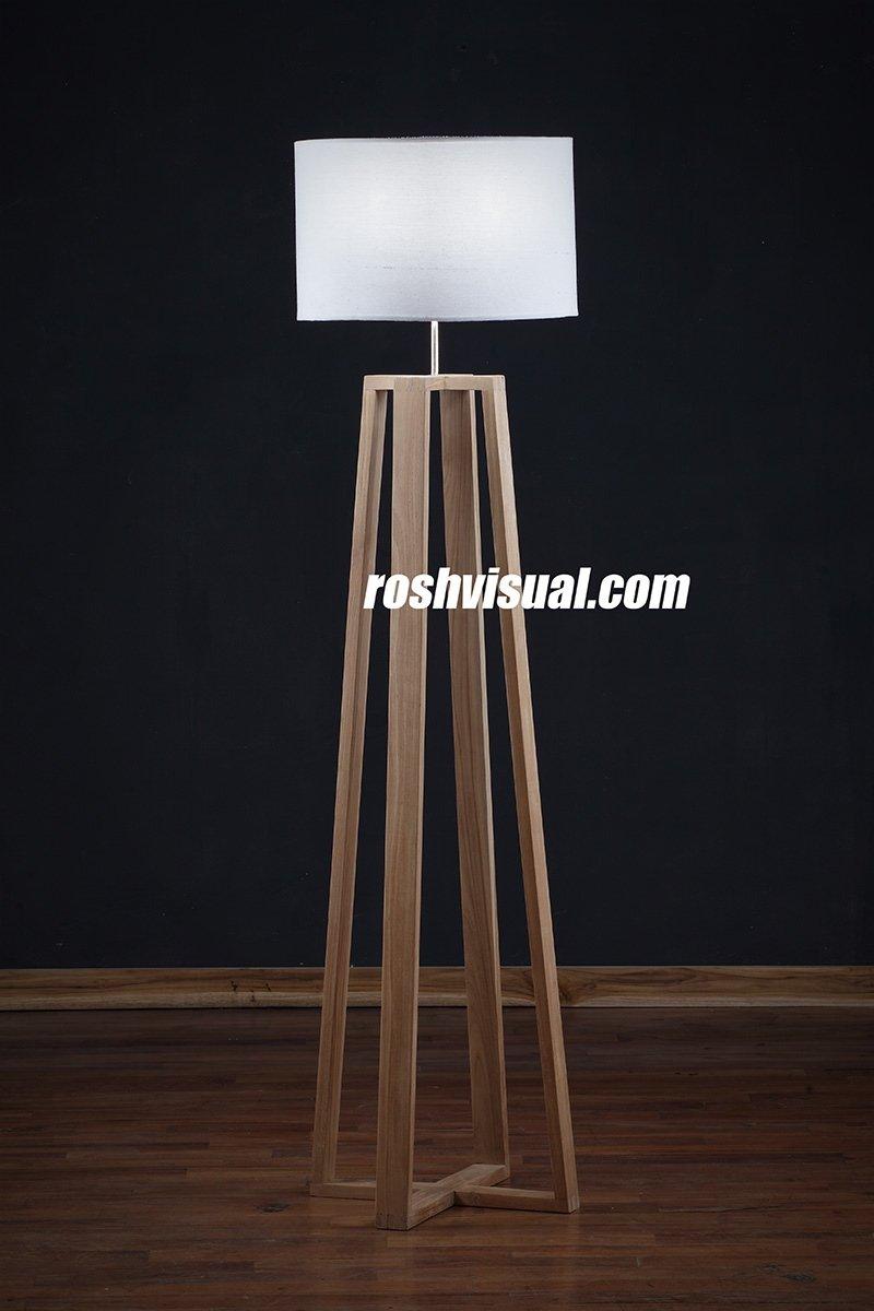 restoration hardware teak lamp furniture photographer